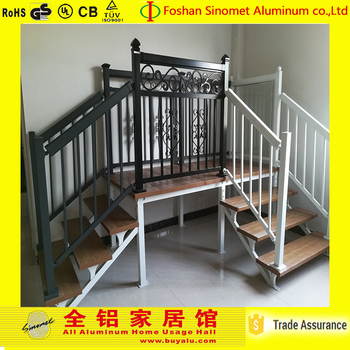 Classic Design Affordable Aluminum Stair Handrail