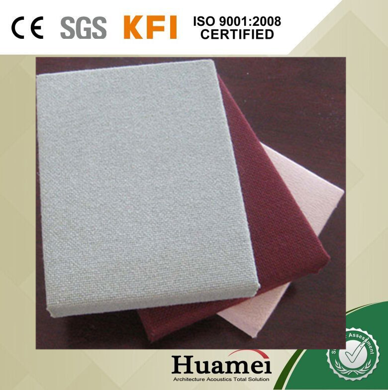 fabric acoustic wall panel/fiberglass acoustic soft roll