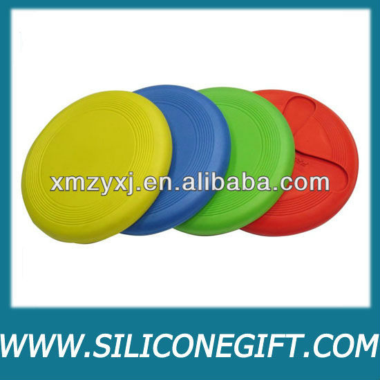 collapsible silicone rubber frisbee