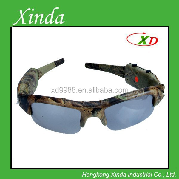 Camouflage glasses 720p Hunting camera glasses (Max 32GB)