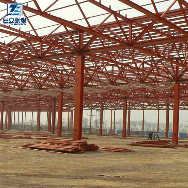 Construction prefabricated steel factory plant steel structure