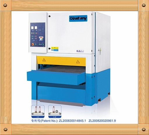 1000mm Wide Belt Sander Wooden Door Sanding Machine For ...