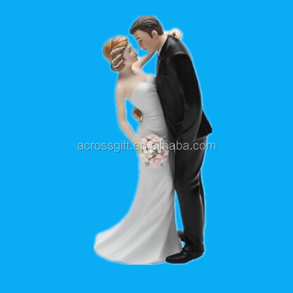 Custom wedding Gifts Ceramic Wedding Couple Figurine, 7-Inch