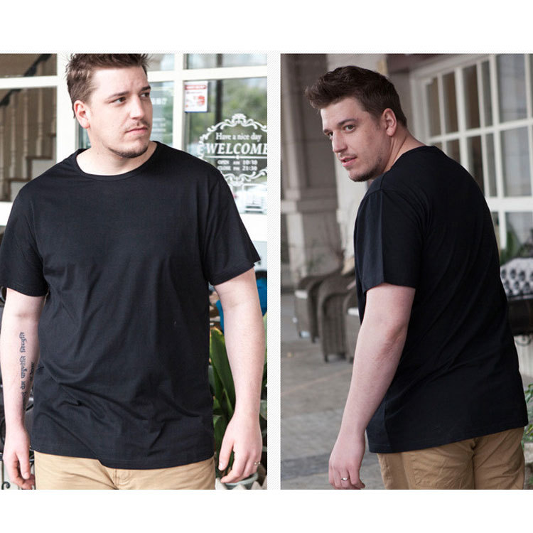 8397d273db42a Plus size male Summer Tops Tees men s clothing o-neck short-sleeve T-shirt  extra large fat guys short-sleeve   Nice plus size clothing shop for  everybody