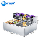 Mini Electric Deep Fryer Commercial Stainless Steel Chips Making Machine
