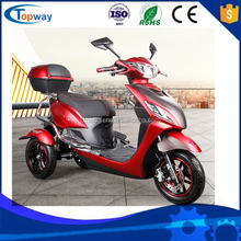 EEC 3 wheels electric motorcycles/tricycle/trike/scooter for old people