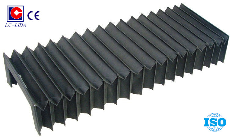 Machine accordion type guide bellow covers of nylon