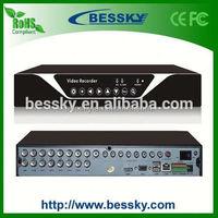 2015 p2p cloud 16ch security receiver
