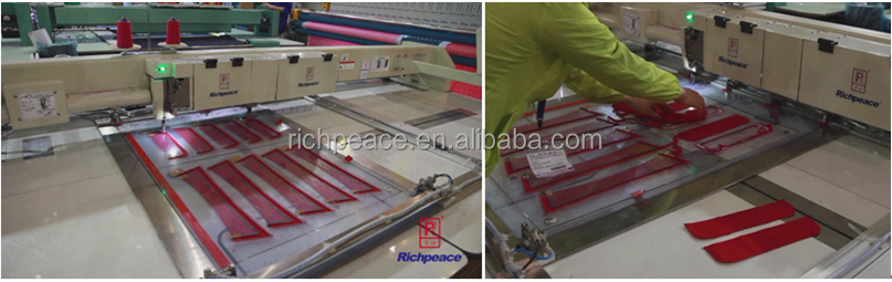 Richpeace Automatic Sewing Machine for Heavy Material