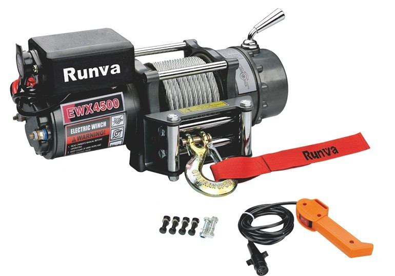 Runva Hot selling 12v electric winch 4500lbs
