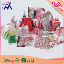 Party supplies for Wedding birthday party decoration of paper straw and round paper cupcake and paper plates