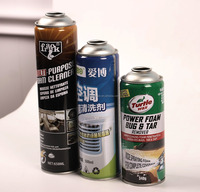 Factory Price 400ml Empty Aerosol Tin Can for Hair Spray