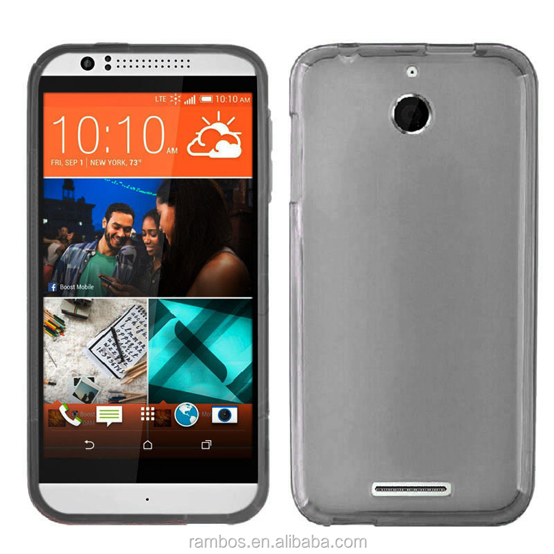 Smooth TPU Gel Skin Baco Cover Soft Slim Cover Case for HTC 610 816