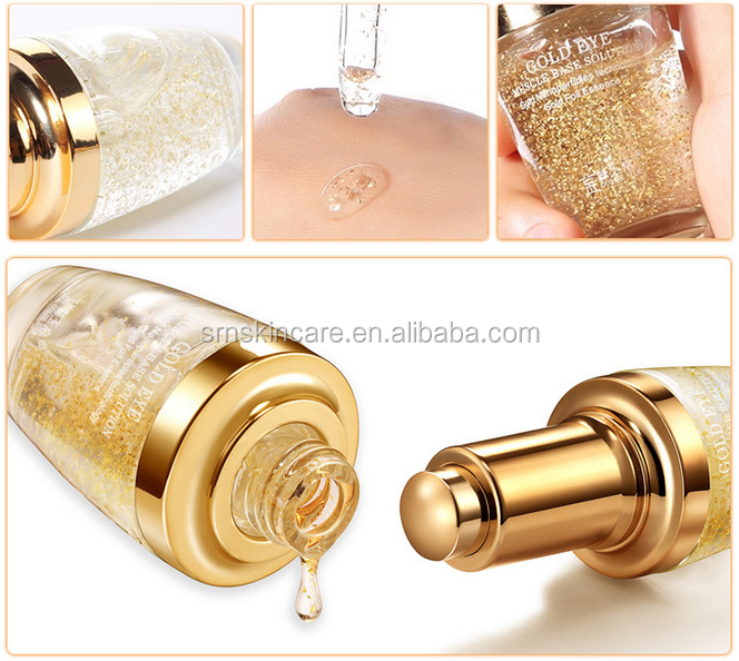 Hot sale 24K Gold serum OEM Anti aging serum