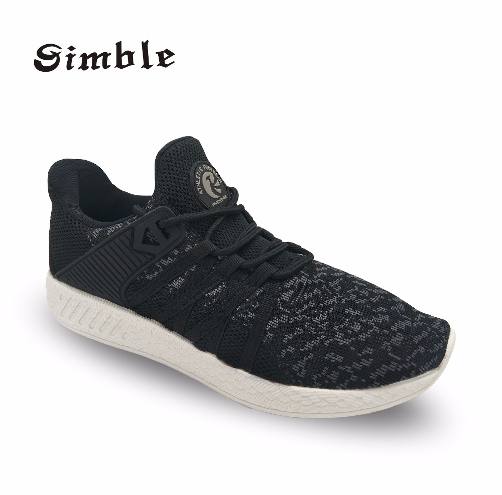 Hot Sale Outdoor Running sport shoes for men Breathable air mesh sock sneakers
