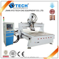 atc 1325 bits engraving furniture vacuum table price square guide rail cnc router woodworking machine