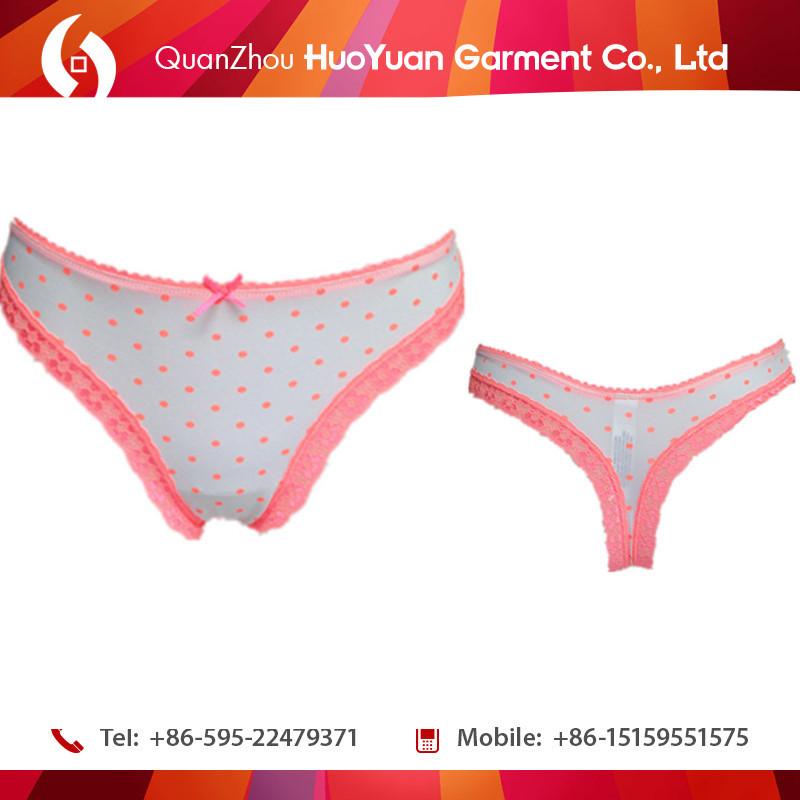 f9cd25da83b5 Manufacturing Comfortable cotton transparent plastic Bow thong for  femininity