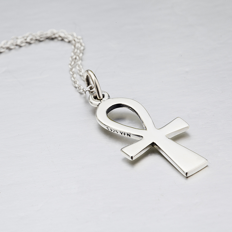 Genuine sterling silver ankh necklace buy ankh necklacesilver genuine sterling silver ankh necklace aloadofball Images