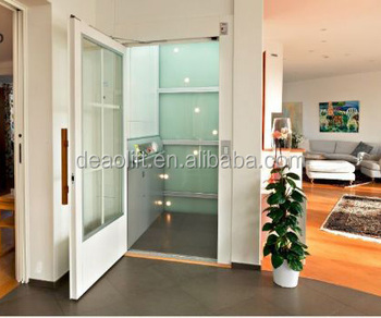 Marvelous Hairless Stainless Steel Single Person Lift House Elevator