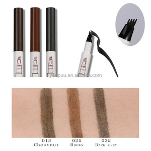 Tattoo Eyebrow Pencil Tips Waterproof Long Lasting Permanent Liquid Eyebrow Pen