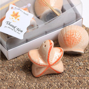 Starfish and snail beach theme wedding decorations complimentary souvenir gift