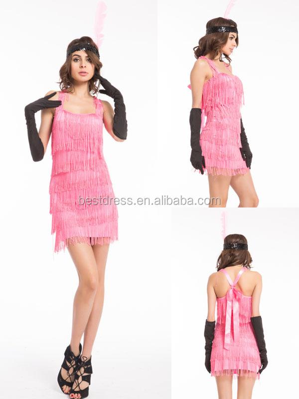 Jazz FLAPPER traje para las mujeres-Disfraces sexys-Identificación ...