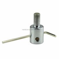 MGBK14 Fast Diamond Grinder Bit Chromeplated Jewelry Tools 1/8
