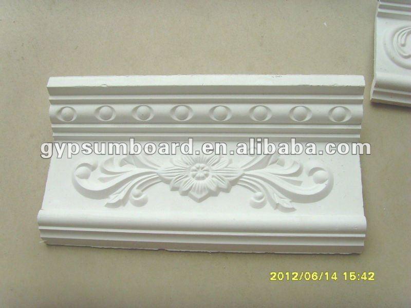 blanc d coratif plafond en pl tre corniche moulures id de produit 634599287. Black Bedroom Furniture Sets. Home Design Ideas