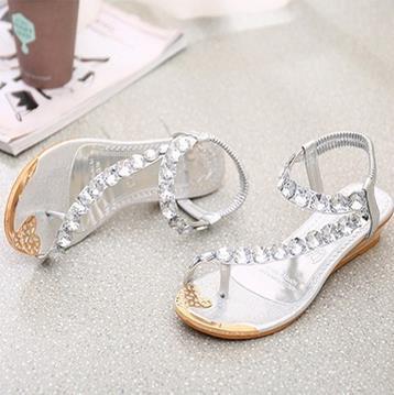 Alibaba,Último Diseño,Zapatos De Mujer,Estilo Bohemio,Zapatos Planos De Toepost,Sandalias De Señora De Gran Tamaño Buy Sandalias De Mujer,Sandalias