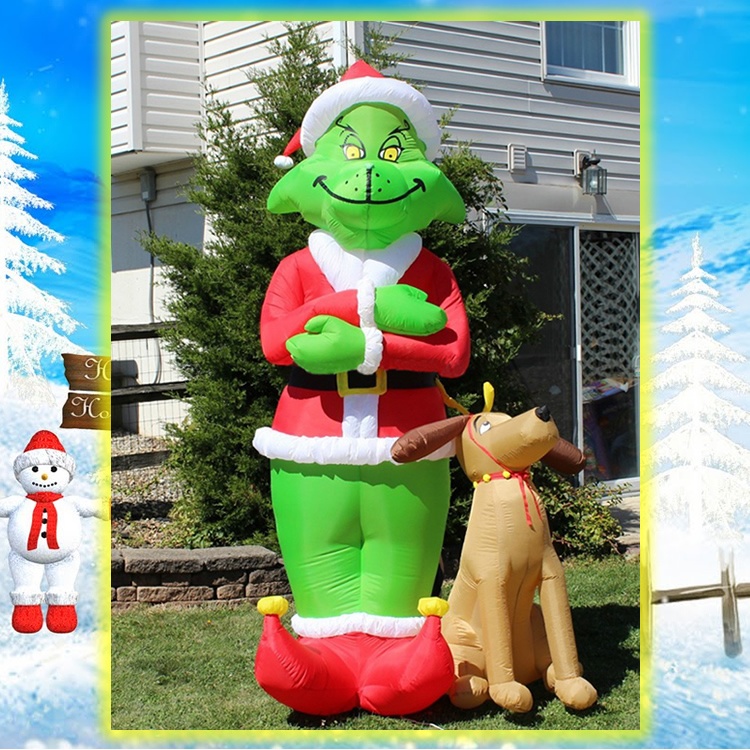 Cheap Inflatable Yard Decorations: Popular Inflatable Grinch-Buy Cheap Inflatable Grinch Lots