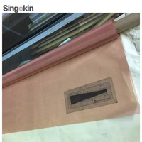 Trade assurance copper braied mesh Copper Fine Micro Screen Woven Wire Mesh