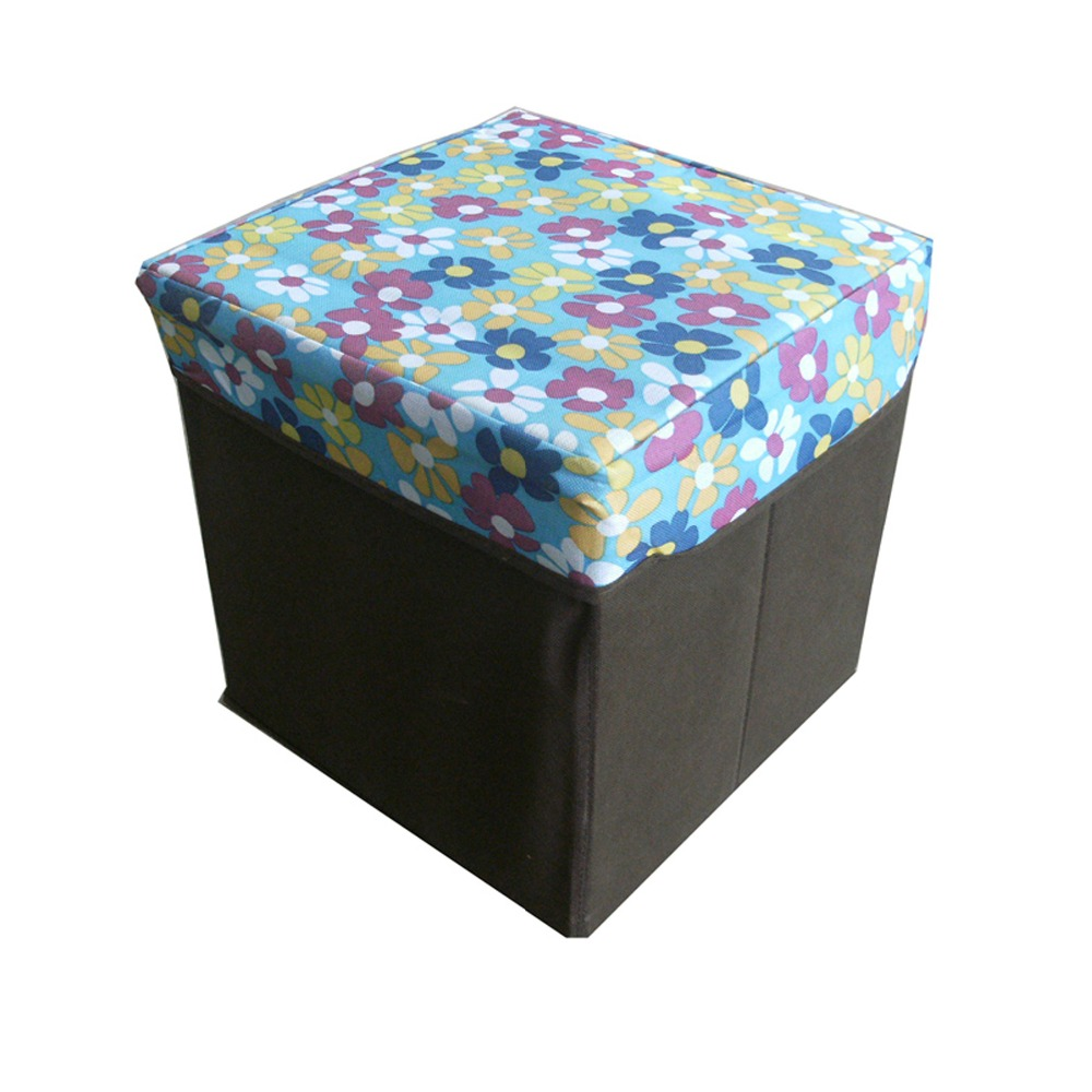 Household furniture puff ottoman folding storage ottoman