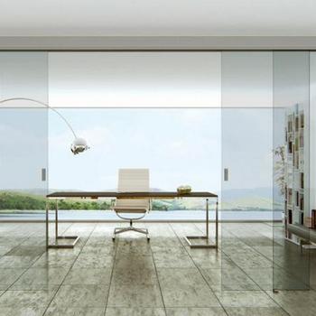 Top Hanging Frameless Glass Sliding Door Buy Windowglassdoor
