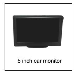 HD रात दृष्टि कैमरा 4 सेंसर यूनिवर्सल कार रिवर्स पार्किंग पीछे देखने प्रणाली