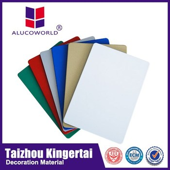 Alucoworld Outdoor Sign Board Material Acp Sheet Cheap