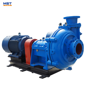 Semi open impeller heavy duty slurry pumps
