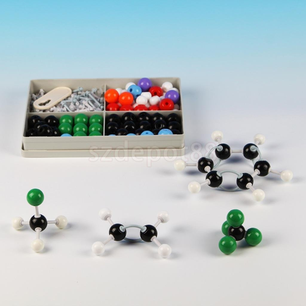Sangdo Scientific Atom Molecular Models Kit Set for General Organic Chemistry Teaching