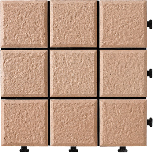 Foshan supplier cheap porcelain decking tile interlocking ceramic tiles 30X30