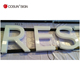 led raised letter sign/ plastic sign letters/ led standing free letters sign