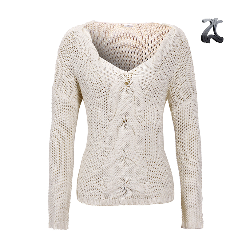 2d91f4388e843 2017 Custom Womens 100% Acrylic Cable Pattern Wide Neck Fashionable  Pullover Sweater For Winter Christmas - Buy 100% Acrylic Womens Pullover ...