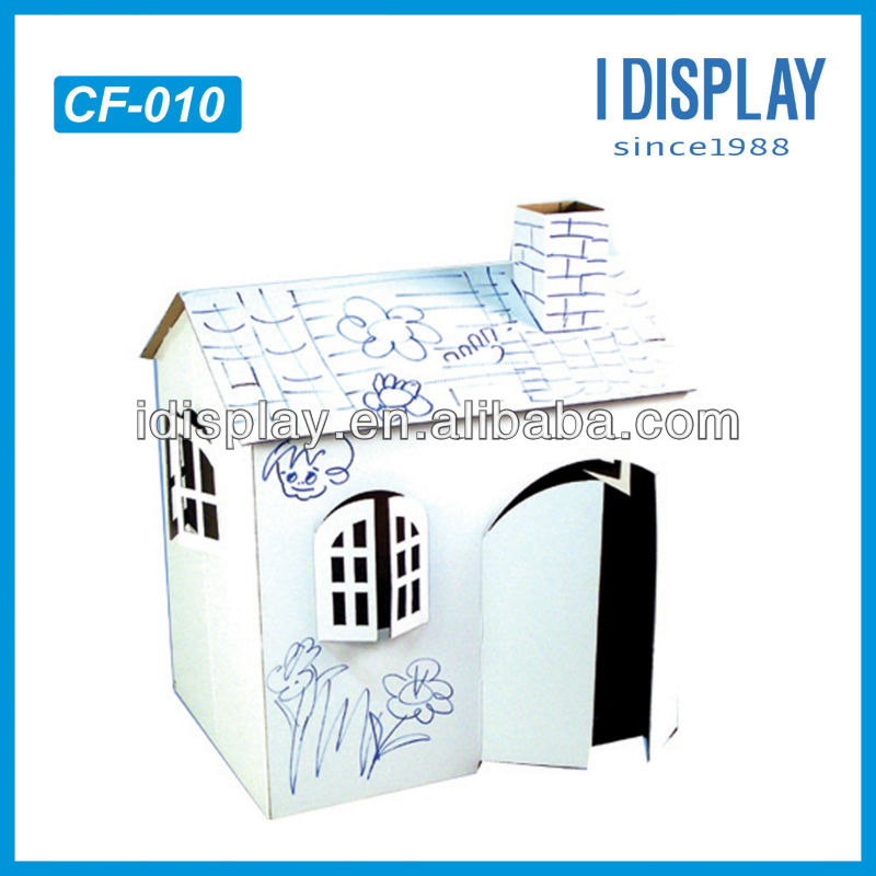Abnehmbarer/einfach- montage eco- friendly eigene karton diy dog house for sale