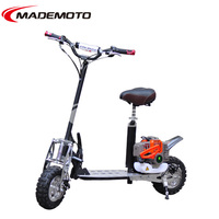 2 wheel adult gas powered scooter 49cc with kit