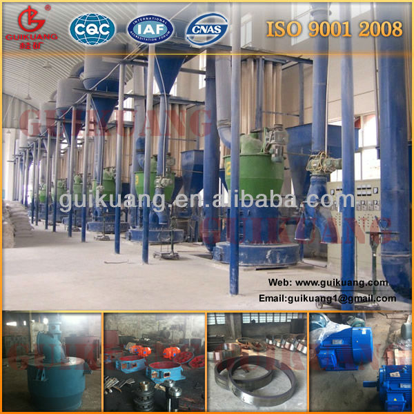 High Pressure Suspension Grinder Mill for Hard Rock