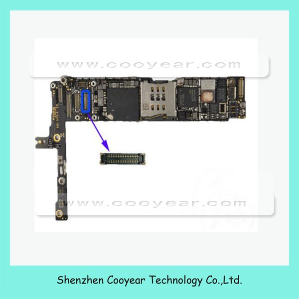 for iphone 6 plus front face camera fpc connector for logic board part