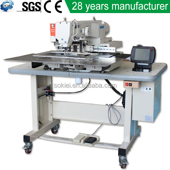 Mitsubishi Brother Pattern Textile Embroidery Industrial Computerized Sewing Machine