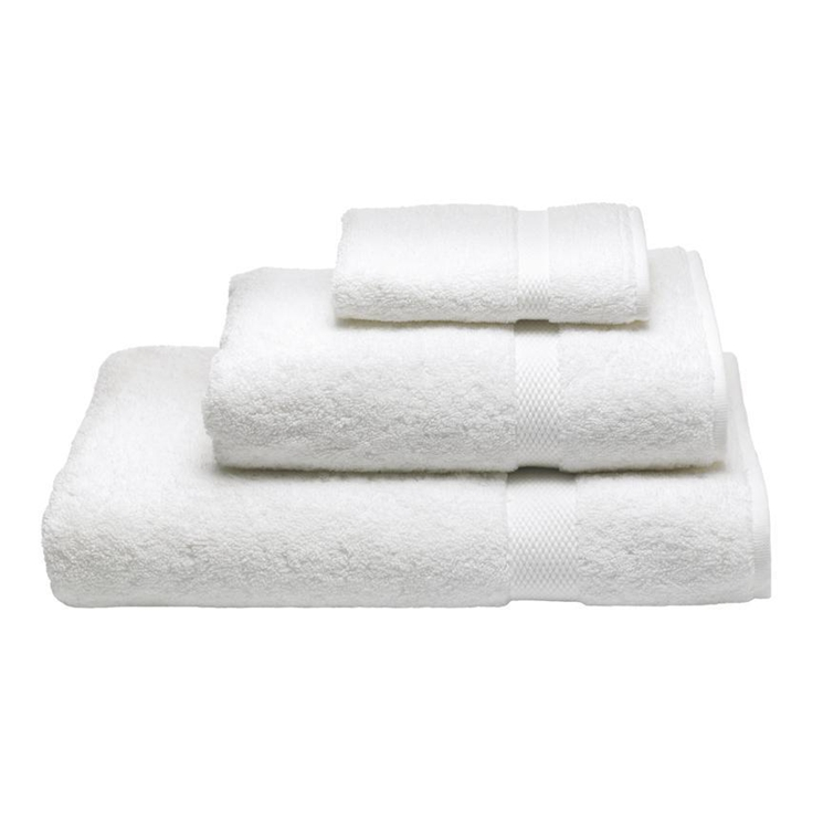 10 years supplies100% cotton wholesale cheap embroidered white color used hotel towel