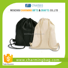 hot sale cheap price promotion drawstring bag cotton