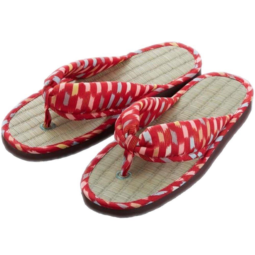 1a6c18a197f6 Get Quotations · Comolife Japanese Tatami Rush Zori Flip Flops -  Kimono Geisha Sandals Zori
