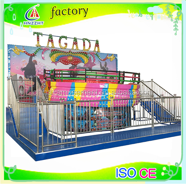 theme park amusement adults ride entertainment disco tagada