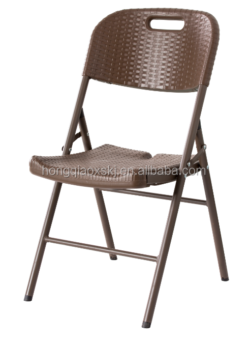 nuevo diseo de ratn hdpe plstico apilables silla plegable de